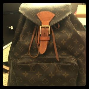 Louis Vuitton 100% Authentic Monogram Montsouris